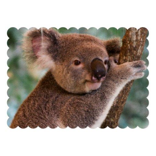 Urso de Koala Convite Personalizados