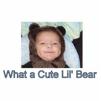 Urso de Lil Escultura De Foto