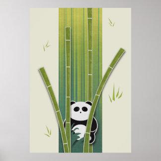 Urso de panda poster