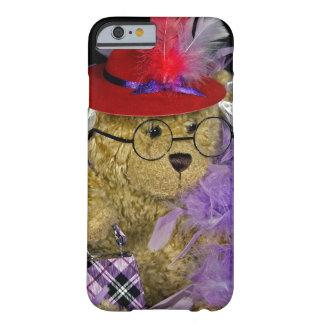 Urso de ursinho de Red Hat Capa Barely There Para iPhone 6