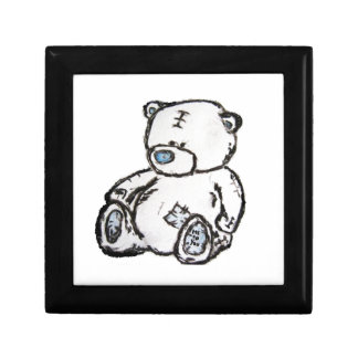 Urso de ursinho do sótão porta treco