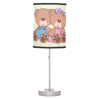 Urso gêmeo do menino e da menina