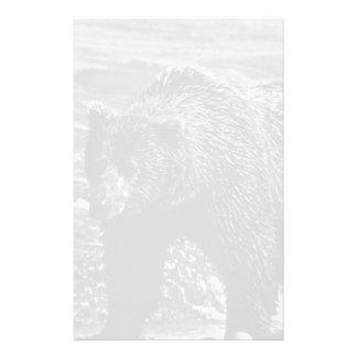 Urso marrom 1970 dos EUA Alaska Papelaria
