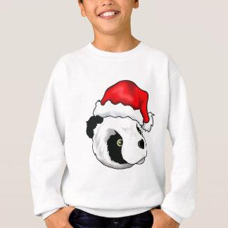 Urso parvo em um chapéu do Natal Camisetas