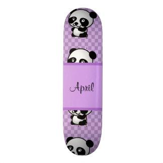 Ursos de panda shape de skate 18,1cm