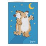 Ursos do aniversário cartão