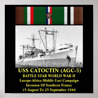 USS CATOCTIN (AGC-5) IMPRESSÃO