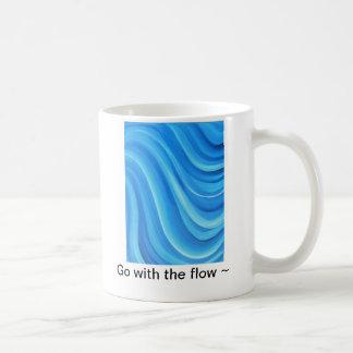 Vá com a caneca do fluxo