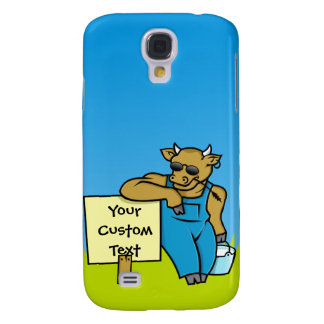 Vaca com sinal galaxy s4 covers