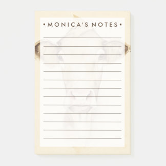 Vaca dos animais | do celeiro da aguarela sticky notes