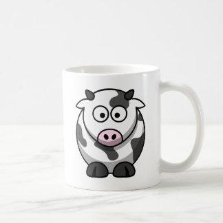 Vaca engraçada/Funny Cow Caneca De Café