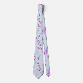 Vaca roxa do pulo gravata