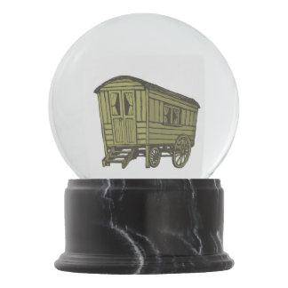 Vagão aciganado da caravana