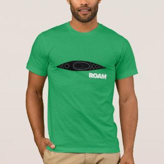 VAGUEIE a camisa de Basecamp do caiaque
