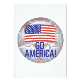 Vai América Convite 12.7 X 17.78cm