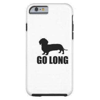 Vai Dacshund longo Capa Tough Para iPhone 6