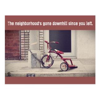 Vai o cartão da vizinhança