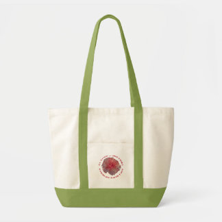 Vai o saco verde e cor-de-rosa bolsa para compras