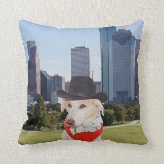 Vai o travesseiro de Myrtie Houston do Texan