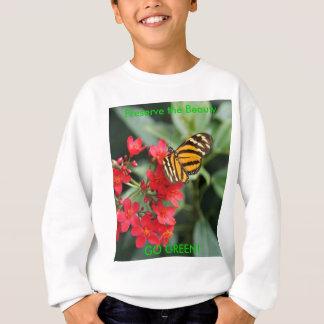 VAI O VERDE! Cores da borboleta do primavera Tshirts