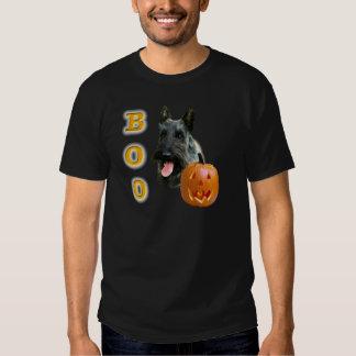Vaia (rajado) de Terrier do Scottish Tshirts