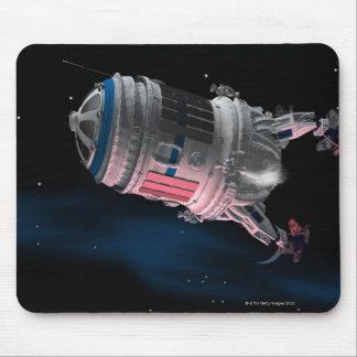 Vaivém espacial que orbita Marte Mouse Pad