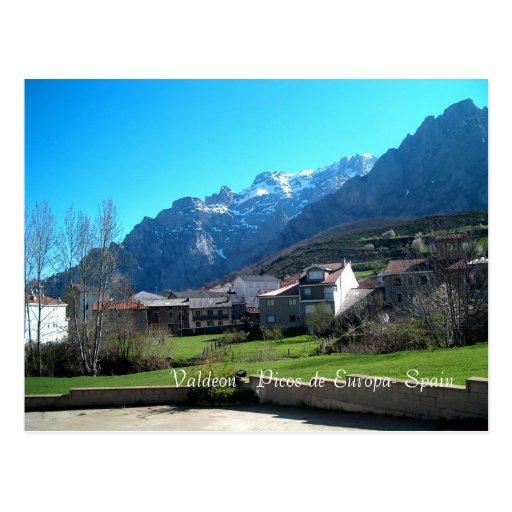 Valdeon - cartão de Picos de Europa Cartoes Postais