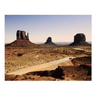 vale do monumento cartão postal
