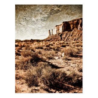 Vale do monumento - três irmãs cartão postal
