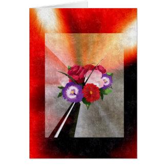 Valentins cumprimento cartão comemorativo