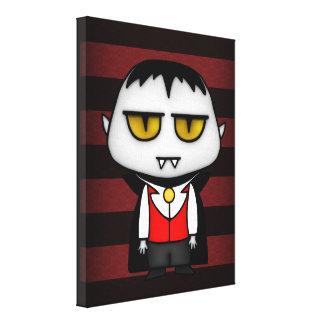 Vampiro júnior impressão de canvas esticadas