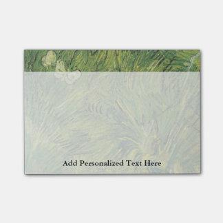 Van Gogh | duas borboletas brancas Bloquinho De Nota