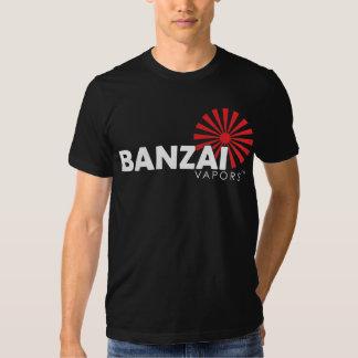 Vapores do Banzai - Tshirt preto