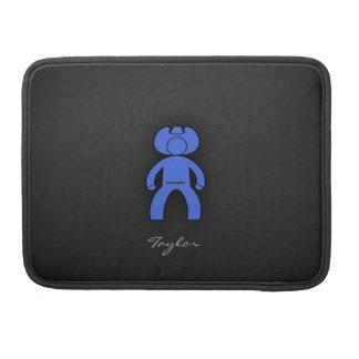 Vaqueiro dos azuis marinhos bolsas MacBook pro