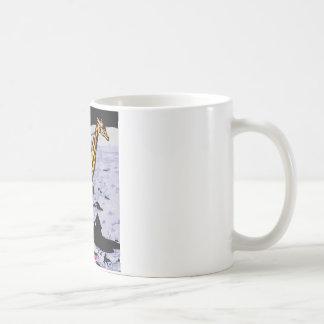 vaqueiro no espaço caneca de café