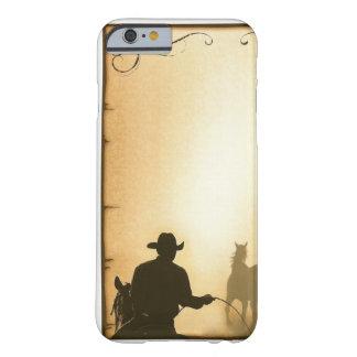 vaqueiro Roping do rancho ocidental do case= do Capa Barely There Para iPhone 6