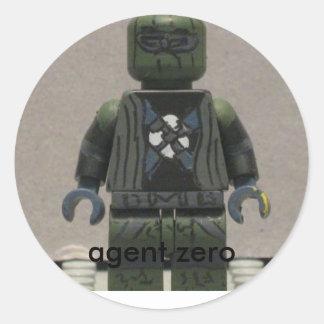 vara zero do agente adesivo