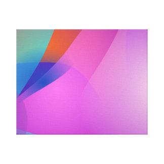 Variação 4 impressão de canvas envolvidas