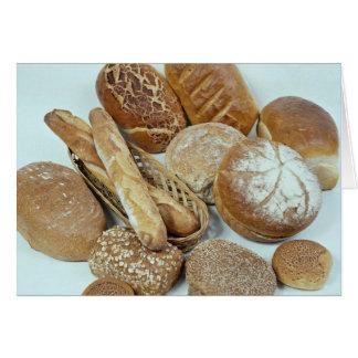 Variedade do pão cartão comemorativo