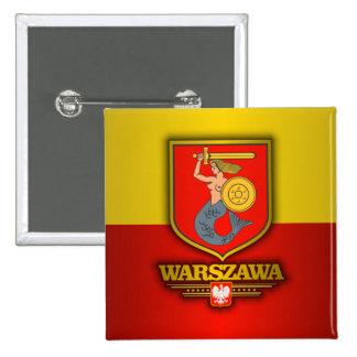 Varsóvia (Varsóvia) Bóton Quadrado 5.08cm