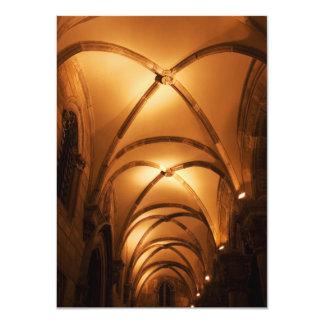 Vault com nervuras do Palácio Illuminated do duque Convites