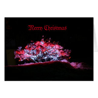 Vazio do cartão de Natal para dentro