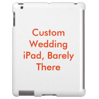 Vazio duro magro do modelo do caso do iPad feito Capa Para iPad