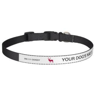 Veado europeu do veado vermelho - partido de veado correia para cachorros