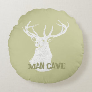 Veado personalizado dos cervos almofada redonda