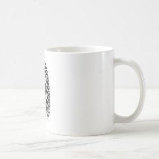 vecto principal do leão caneca de café