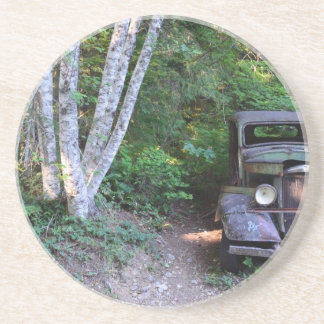 Veículo do passado porta-copo