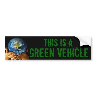 VEÍCULO VERDE autocolantes para automóveis