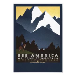 Veja América-Montana Convite 12.7 X 17.78cm