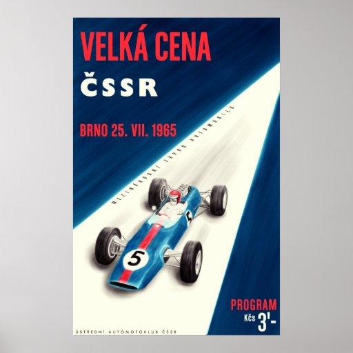 Vekla 1965 Cena CSSR compete o poster